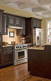 Findley & Myers Palm Beach Dark Chocolate Kitchen Cabinets