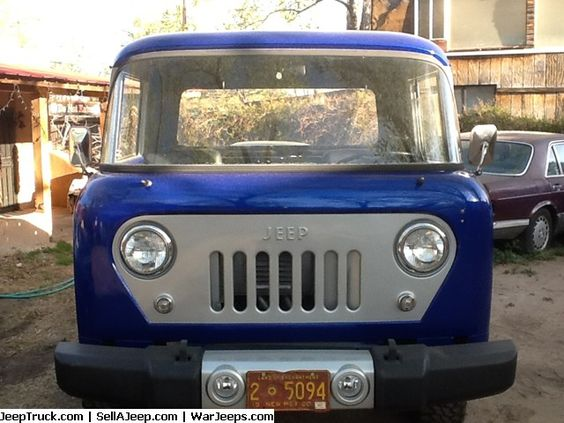 Used Jeeps and Jeep Parts For Sale - 1958 Willys FC-170