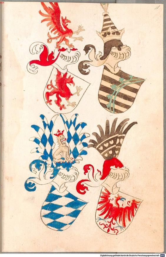 Bruderschaftsbuch des jülich-bergischen Hubertusordens Niederrhein, um 1500 Cod.icon. 318  Folio 11r