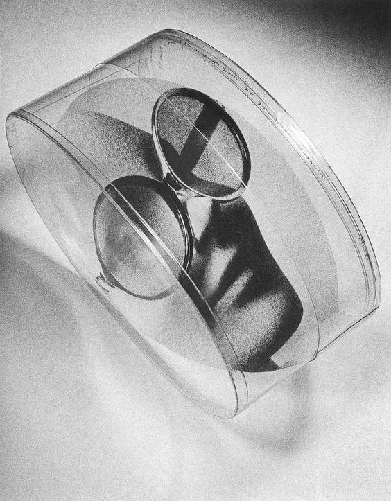 Mario Cresci - Modello sulle immagini trasparenti n° 1, 1968