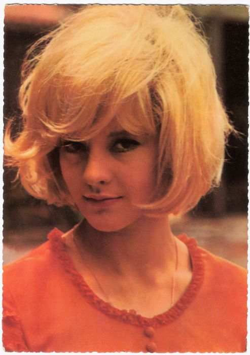 I want my hair to look like Sylvie Vartan's...only less blond
