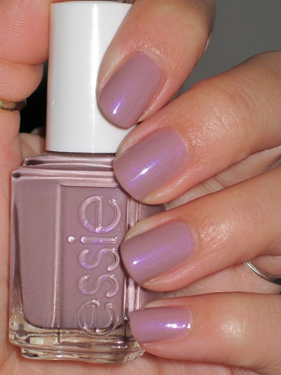 Essie Demure Vixen--  This is my FAVORITE color right now. I love that it looks different in different lights... definitely lives up to its name ;)