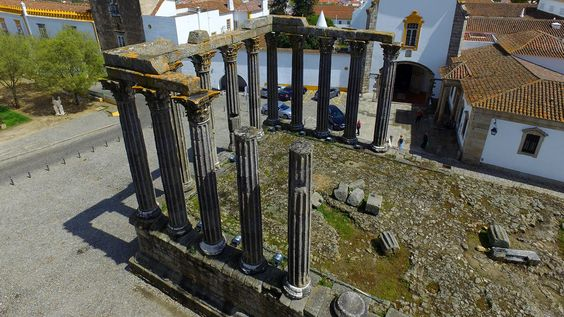 Templo de Diana - Évora