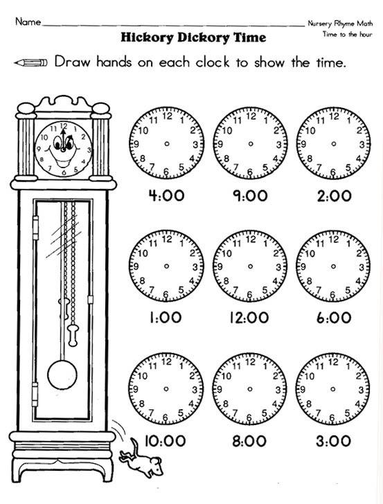 Free Printable Time Worksheets For 1st Grade Time Worksheets Worksheets For Kids Worksheets Free
