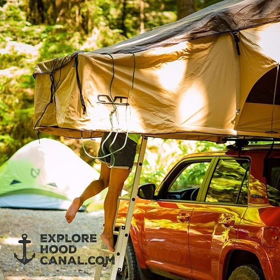 #Camping #instyle #glamping @cvttents #olympicpeninsula #wildsideWA #explorehoodcanal #hoodcanal #olympicnationalpark #beauty #StaircaseCampground #amazing #awesome #nature #beautiful #cool #happy #instagood #fun #legs @toyota #forerunner #cvtents #cascadevehicletents #campiswhereyouparkit #cvtfamily @nemoequipment #adventureanywhere