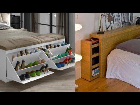 100 Bedroom Storage Ideas Small Bedroom Hacks 2020 Youtube In 2020 Small Bedroom Hacks Bedroom Storage Very Small Bedroom