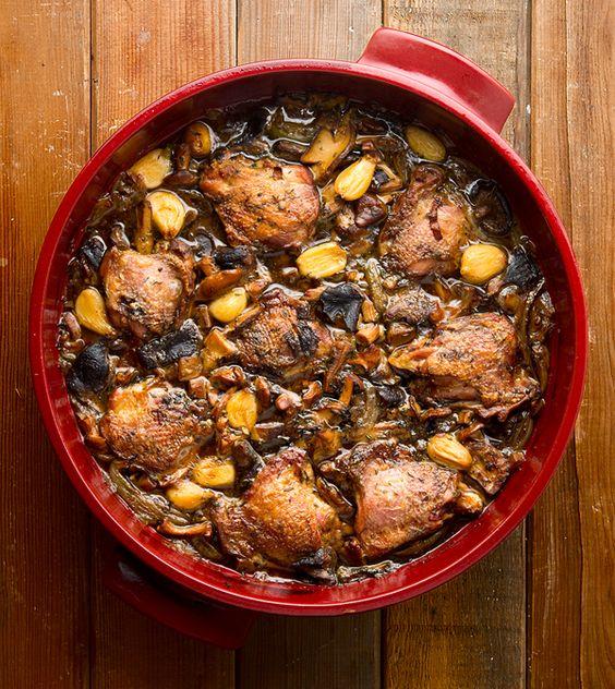 Pheasant, Wild mushrooms and Mushrooms on Pinterest