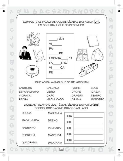 Ciranda Das Silabas Volume 6 Em 2020 Atividades Com Silabas