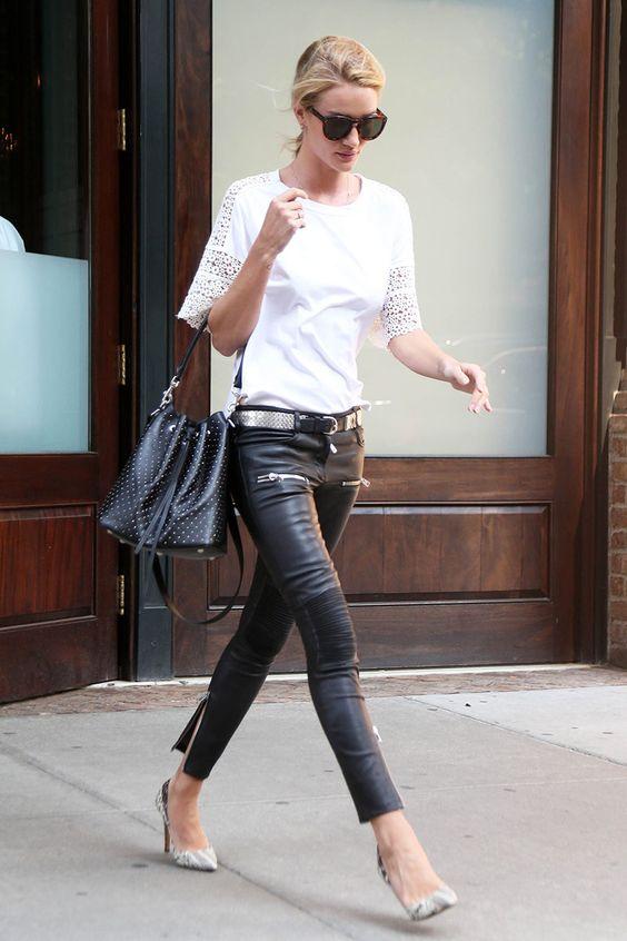 Top looks. De estampados, botas estivales y Diane Kruger