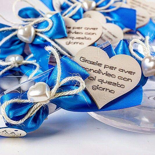 Segnaposto Matrimonio Blu.Segnaposto Matrimonio Ringraziamento Blu Royal E Legno Sbiancato