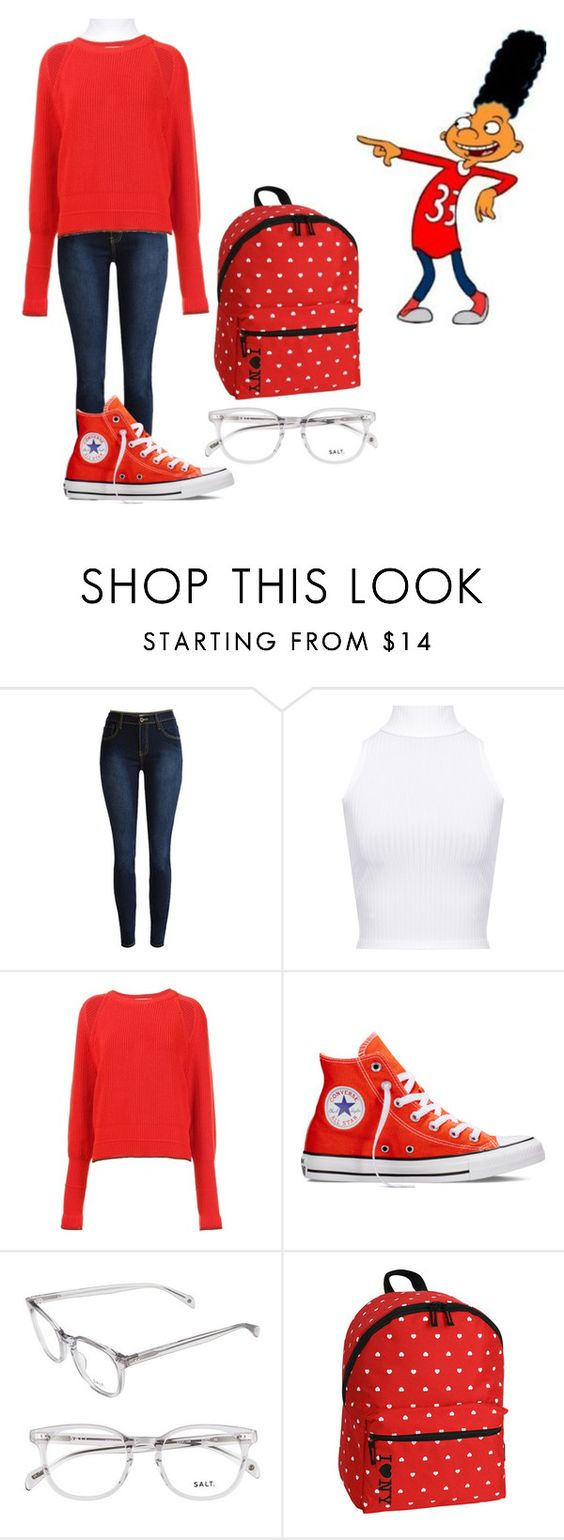 """Untitled #242"" by cannonsamiya on Polyvore featuring WearAll, Givenchy, Converse and JWorld New York"