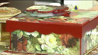 Santa Receita   Caixa em papel crochê por Jorge Pinto - 30 de março de 2016 - YouTube