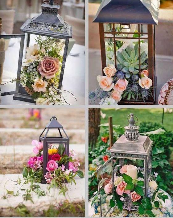 51 Amazing Lantern Wedding Centerpiece Ideas Lantern Centerpiece Wedding Wedding Lanterns Elegant Bridal Shower