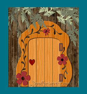 Pinterest the world s catalog of ideas for Fairy door pattern