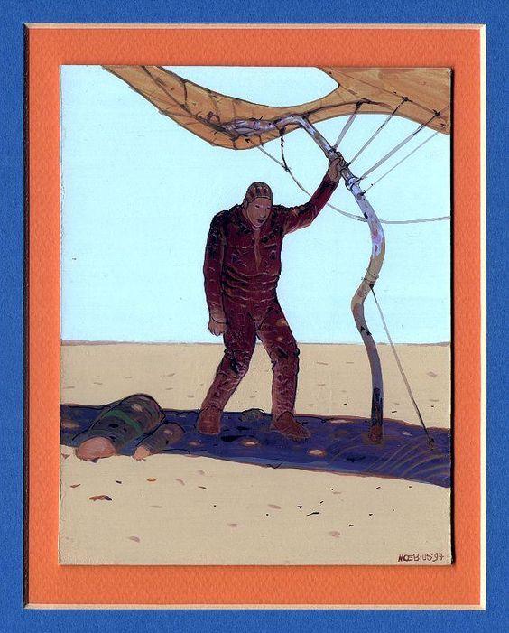 Moebius Giraud   Artbook   Surreal comic artist   French illustrator #Surrealismo #Design #Creative #Dreams #Comic @deFharo