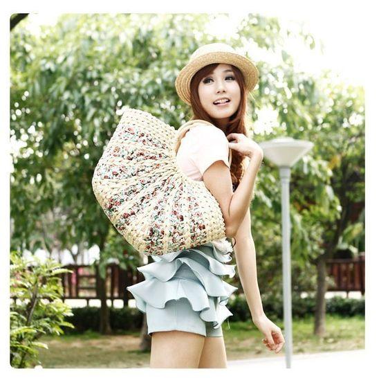 Aliexpress.com : Buy Portable Women's Designer Shoulder Rustic Handbags Ladies' Fashion Straw Bag Large Capacity Beach Woven Bag on JE Store.
