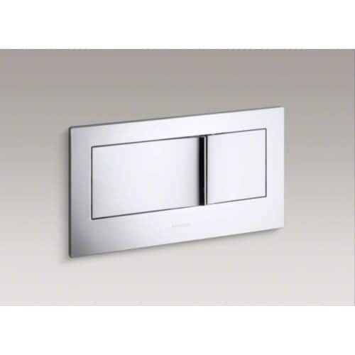 Kohler K-6298 Veil Dual Flush Actuator Plate (White)   Outlet ...