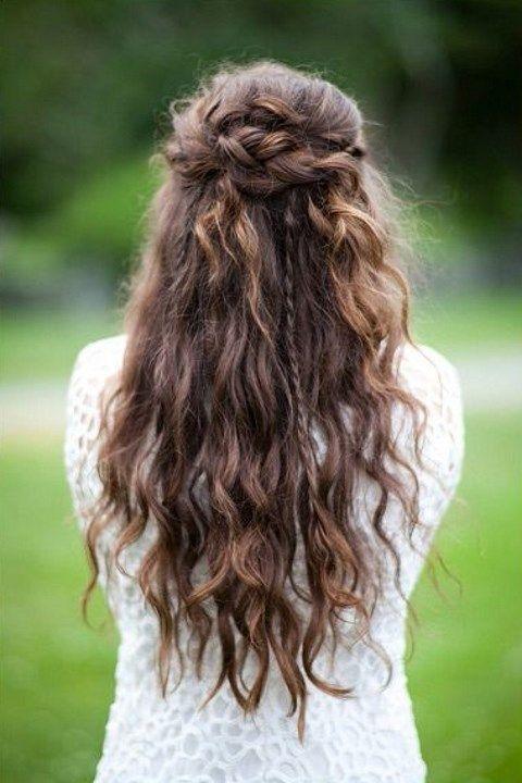 27 Casual Wedding Hair Ideas Hair Styles Braided Hairstyles For Wedding Wedding Hair Down