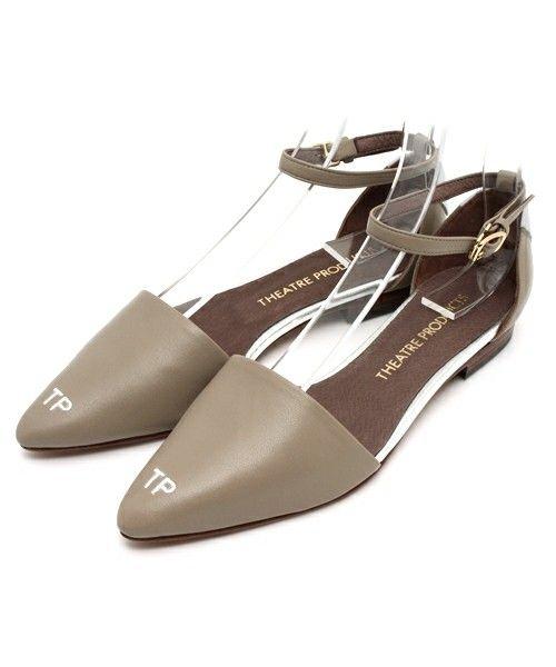 【セール】フラット サンダル(サンダル)|THEATRE PRODUCTS(シアタープロダクツ)のファッション通販 , ZOZOTOWN