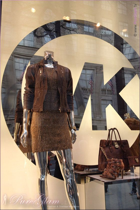 Shopping at Michael Kors Store – 5th Avenue – Manhattan New York City, NYC – Handbags – Watches and Clothes