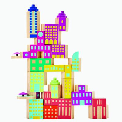 Puzzles Activities Blockitecture Deco Mega Set Post Modern