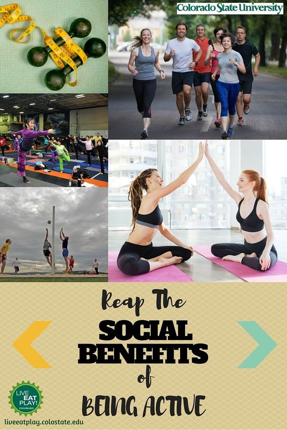 As your physical and mental health improve with physical activity, so might your social relationships!
