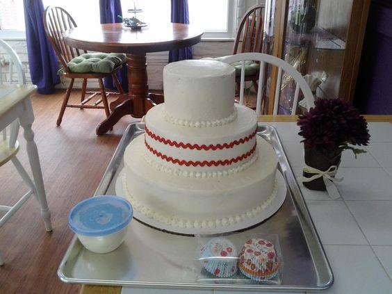 Simple wedding cake, 6 layers Things Iu0027ve Made Pinterest - bodas sencillas