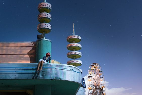 Photo Moonride I - David de Rueda