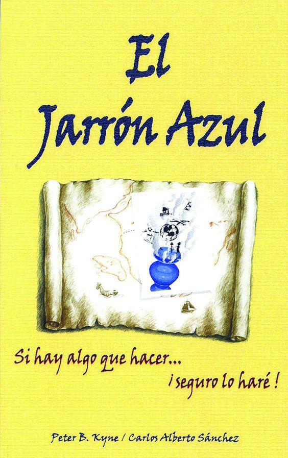 El jarrón azul - Libro