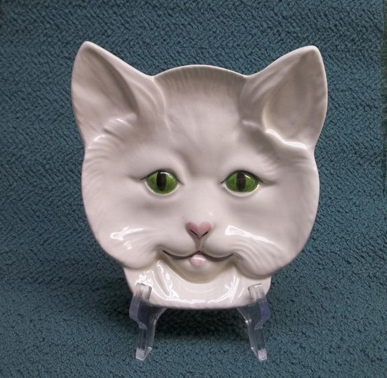 Cat face spoon rest on etsy