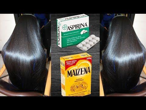 Alisamento Natural Com Maizena E Aspirina Veja Na Hora A Diferenca
