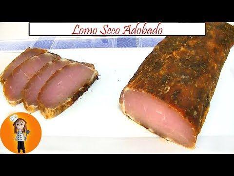 Lomo Seco Adobado Para Comer Como Fiambre Companaje Ingredientes Kilo Y Medio De Cinta De Lomo Sal Lomo De Cerdo Recetas Con Embutidos Recetas De Comida