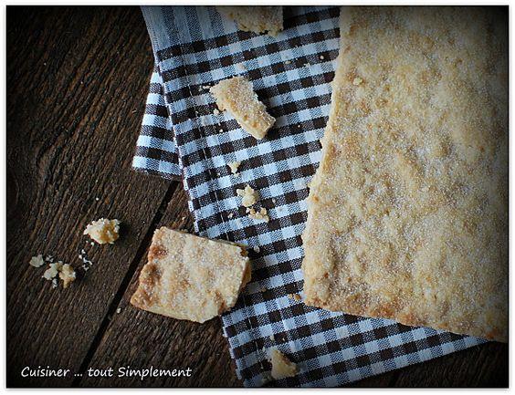 Shortbread à la Clémentine