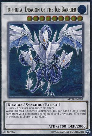 Carta da Semana #80: Trishula, Dragon of the Ice Barrier