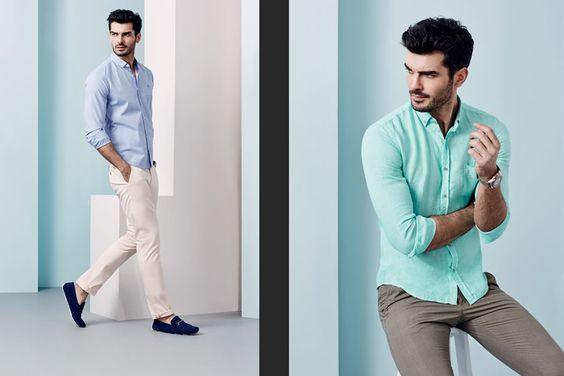 Avva Spring/Summer 2015 Men's Lookbook   Primavera Verano #Tendencias #Moda Hombre #Trends #Menswear   F.B.