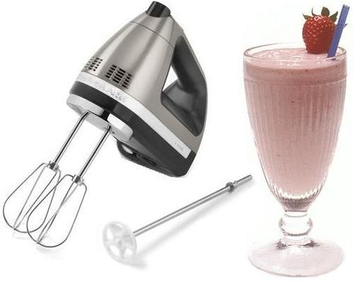 Kitchenaid Hand Mixer Attachments ~ Kitchenaid hand mixer with milkshake attachment now you