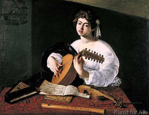 Michelangelo Merisi Caravaggio - Der Lautenspieler