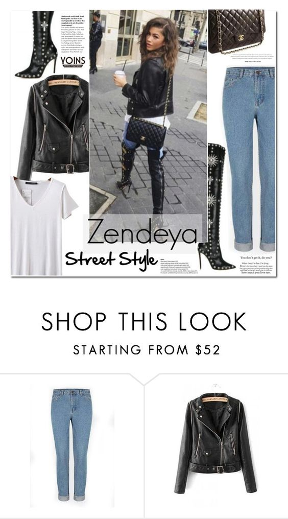 """Celebirty Street Style: Zendeya"" by vanjazivadinovic ❤ liked on Polyvore featuring Christian Dior"