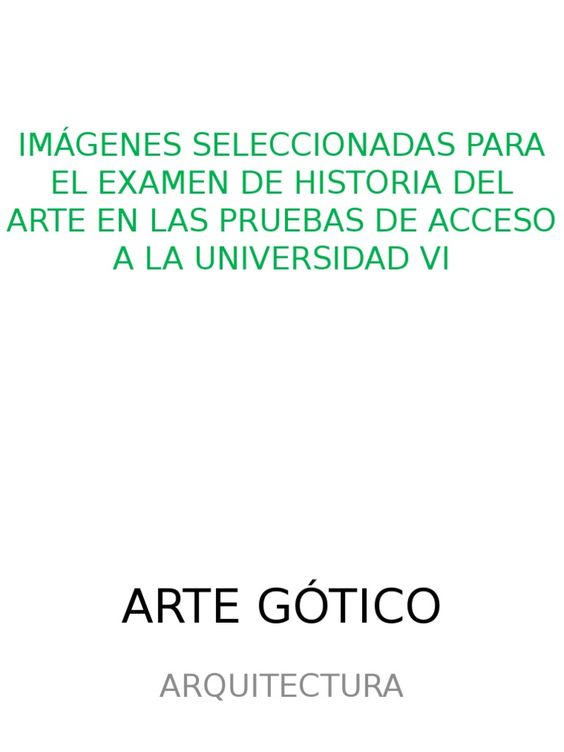 Arte Gotico Imagenes Pau - Documents - Online Powerpoint Presentation and Document Sharing - SlideServe.co.uk