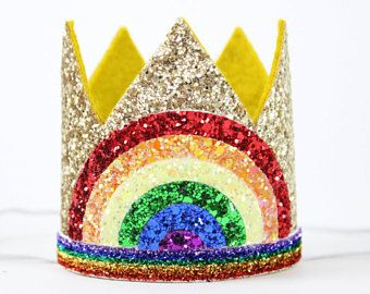 Image result for rainbow crown