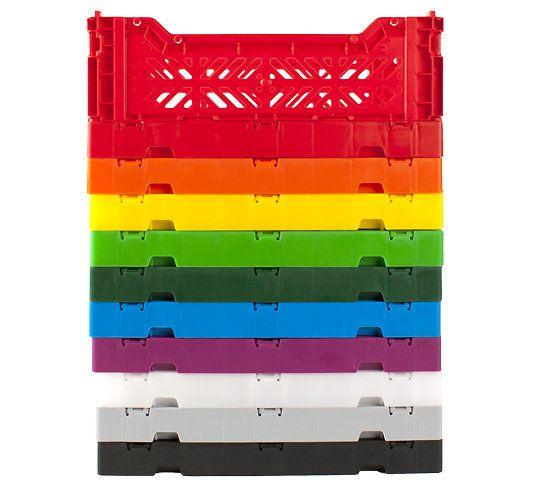 Mini Cagette Pliable Cagette Plastique Cagette Systeme De Rangement