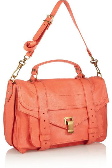 PROENZA SCHOULER The PS1 medium leather satchel $1,695