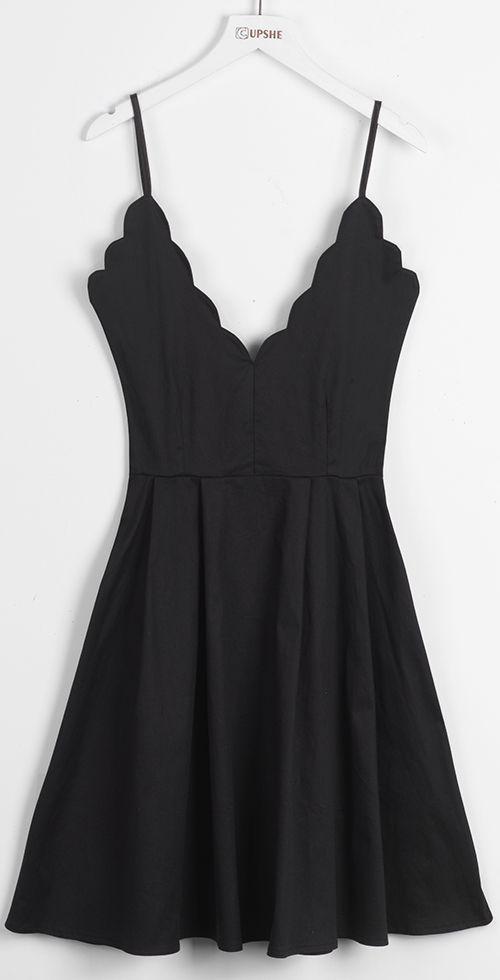 Pental Affairs Black Slip Dress | Sweet dreams, Neckline and Ruffles