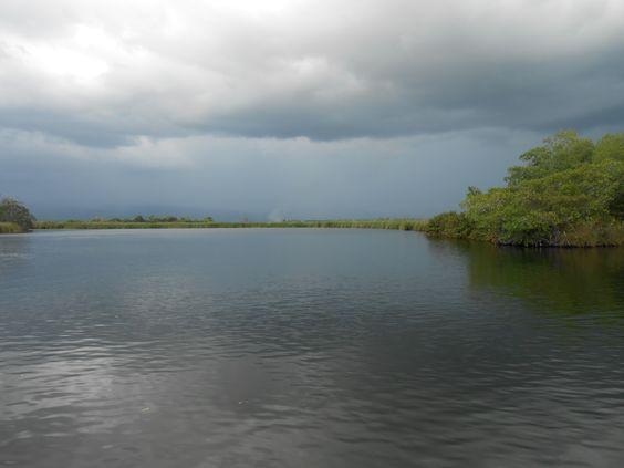 Boottocht over de Black River, Jamaica