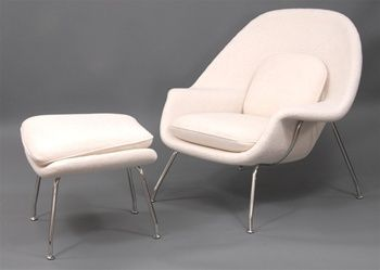 Love the Saarinen Womb Chair!