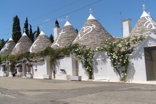 Trulli Alberobello, Italy. Absolutely gorgeous. Not to be missed.