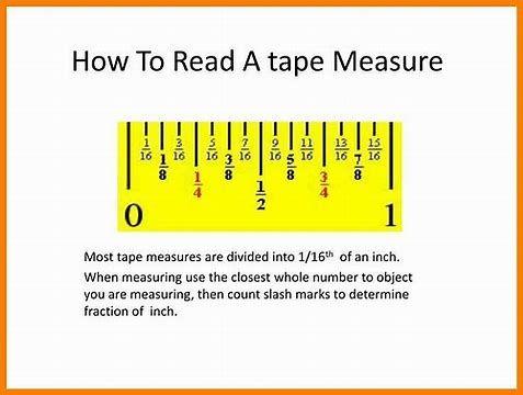 Resultado De Imagen De How To Read A Tape Measure Tape Measure