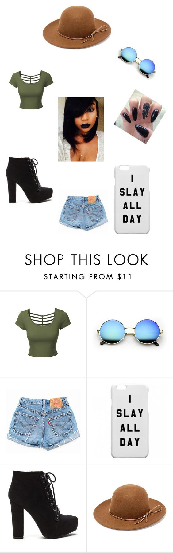 """""""All Mine"""" by alexis-clyde ❤ liked on Polyvore featuring LE3NO, Levi's, RHYTHM and Fire"""