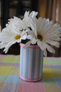 Soup Can Vases