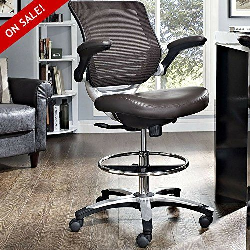 Hydraulic Drafting Stool With Arms Guitar Chair Rolling